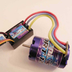 MTroniks 26068 Brushless Speed Control And Motor Combo For Cars