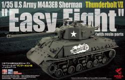 Asuka 35040 Us Medium Thunderbolt Sherman Easy Eight 1:35 Plastic Model Kit