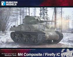Rubicon Models 280061 M4 Sherman Composite / Firefly Ic Hybrid 1:56 Model Kit