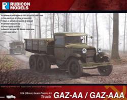 Rubicon Models 280063 Gaz-Aa/Aaa Truck 1:56 Plastic Model Kit