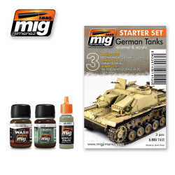 Ammo by Mig German Tanks Weathering Set For Model Kits Mig 7412