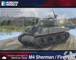 Rubicon Models 280060 M4 Sherman / Firefly Ic 1:56 Plastic Model Kit