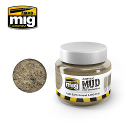 Ammo by Mig Light Earth Ground For Model Kits Mig 2102