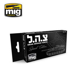 Ammo by Mig Israel Defence Forces Set For Model Kits Mig 7163