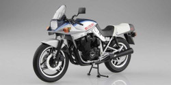 Aoshima 10524 Suzuki Gsx1100S Katana Sd (Blue & Silver) 1:12 Plastic Model Bike Kit