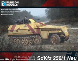 Rubicon Models 280038 Sdkfz 250/1 Neu 1:56 Plastic Model Kit