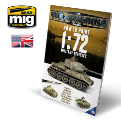 Ammo by Mig How To Paint 1:72Nd Military Vehicles Guide Book Mig 6019