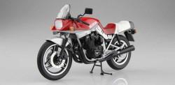 Aoshima 10523 Suzuki Gsx1100S Katana Se (Red & Silver) 1:12 Plastic Model Bike Kit