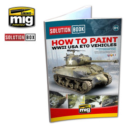 Ammo by Mig WWII American Eto Solution Book For Model Kits Mig 6500