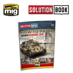Ammo by Mig How To Paint WWII German Late War For Model Kits Mig 6503