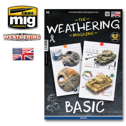 Ammo by Mig Basic Weathering Guide Book For Model Kits Mig 4521