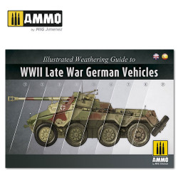 Ammo by Mig Illustrated Guide Of WWII Late German Vehicles Mig 6015