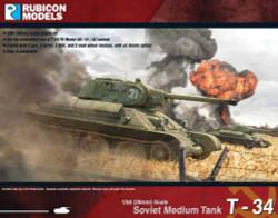 Rubicon Models 280013 T-34/76 1:56 Plastic Model Kit