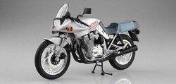 Aoshima 10522 Suzuki Gsx1100S Katana Sl (Silver) 1:12 Plastic Model Bike Kit