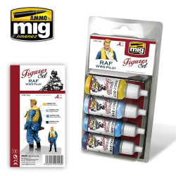 Ammo by Mig Raf WWII Pilot Uniforms For Model Kits Mig 7026