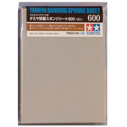 TAMIYA 87148 Sanding Sponge Sheet 600 - Tools / Accessories