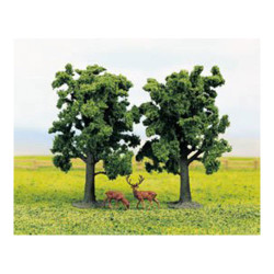 GAUGEMASTER Tree Set - Beech (2) OO Gauge Scenics GM188