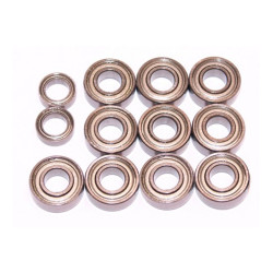 Tamiya Monster Beetle Bearings Ballrace Upgrade for RC Car 12 Bearings 58618