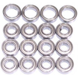 Tamiya TT02B Bearings Ballrace Upgrade for RC Car 16 Bearings