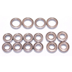Tamiya TT02 Bearings Ballrace Upgrade for RC Car 16 Bearings