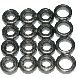 Tamiya TT01 Bearings Ballrace Upgrade for RC Car 16 Bearings
