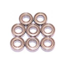 Tamiya Bearings Ballrace Upgrade for RC Trailer 8 Bearings - 56306/56310/56333