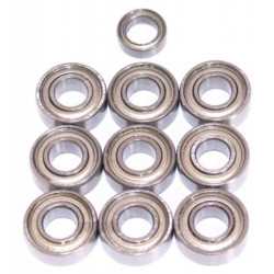 Tamiya Rising Fighter Bearings Ballrace Upgrade for RC Car 10 Bearings 58416