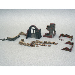 ITALERI Walls and Ruins 6087 1:72 Accessories Model Kit