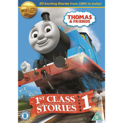 Thomas & Friends 1st Class Stories DVD 1984 to Today 70th Anniversary Edition