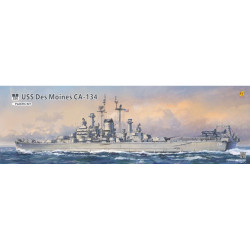 Very Fire USS Des Moines VF350918 1:350 Battleship Plastic Model Kit