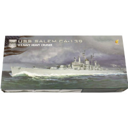Very Fire USS Salem VF700908 1:700 Battleship Plastic Model Kit
