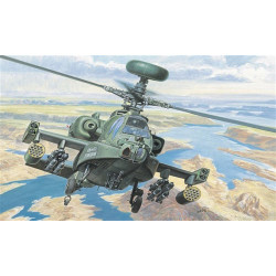 ITALERI AH-64 D Apache Longbow Helicopter 080 1:72 Aircraft Model Kit