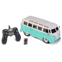 Carson RC VW T1 Samba Bus / Turquoise 2.4Ghz 1:14 Ready To Run 907324