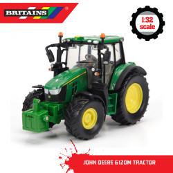 BRITAINS John Deere 6120M Tractor 1:32 Diecast Farm Vehicle 43248