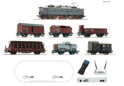 Roco DRG E52 Electric Freight Starter Set (DCC-Fitted) HO Gauge 51323