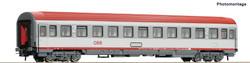 Roco Start OBB Bmz 2nd Class Eurofima Coach VI HO Gauge 54164