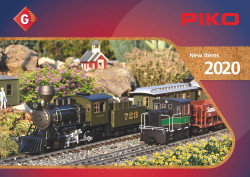 Piko PIKO G Scale New Items Leaflets 2020 (USA) G Gauge 99720US
