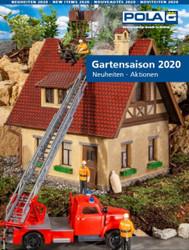 Pola New Items Leaflet 2020 G Gauge 399220EX