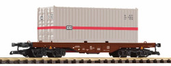 Piko DB Bogie Flat Wagon w/20' Container IV G Gauge 37747