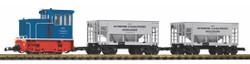 Piko GE 25t Diesel Industrial Starter Set G Gauge 37151
