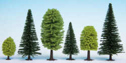Noch Mixed Forest (25) Hobby Trees 3.5-9cm Multi Scale 32811