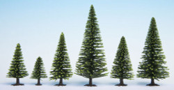 Noch Spruce (25) Hobby Trees 3.5-9cm Multi Scale 32825