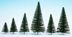 Noch Fir (25) Hobby Trees 3.5-9cm Multi Scale 32830