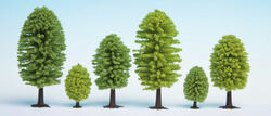 Noch Deciduous (10) Hobby Trees 3.5-5cm Multi Scale 32901