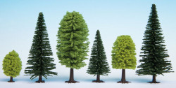 Noch Mixed Forest (10) Hobby Trees 3.5-9cm Multi Scale 32911