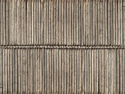 Noch Timber Wall 3D Cardboard Sheet 25x12.5cm HO Gauge 56664