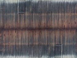 Noch Wearthered Timber Wall 3D Cardboard Sheet 25x12.5cm HO Gauge 56665