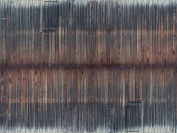 Noch Wearthered Timber Wall 3D Cardboard Sheet 25x12.5cm HO Gauge 56665