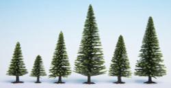 Noch Spruce (10) Hobby Trees 3.5-9cm Multi Scale 32925
