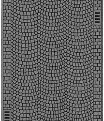 Noch Cobbled Pavement 100x4cm N Gauge 34222